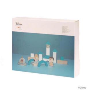 ディズニー(Disney)の絶対お買い得♡♡ ディズニー キディア シンデレラ 王子 お城セット(積み木/ブロック)