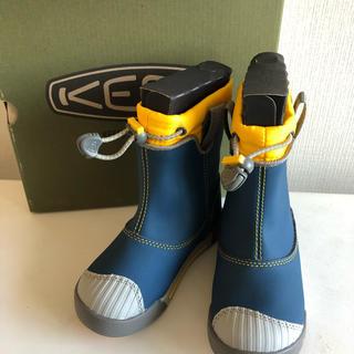 キーン(KEEN)の新品 未使用 KEEN長靴 16cm(長靴/レインシューズ)