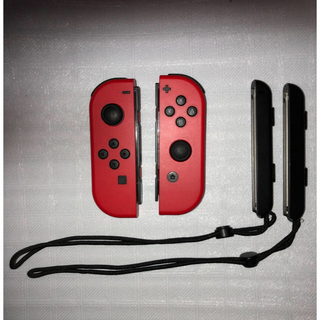 Nintendo Switch - ニンテンドー スイッチ ジョイコン レッド (L) (R) 2点セット