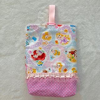 ディズニー(Disney)の入園・入学に♡プリンセス 上履き袋(シューズバッグ)