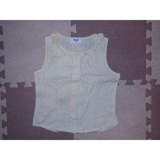 ユニクロ(UNIQLO)の美品★432ユニクロのノースリーブシャツ 120★険:ラルフローレン・組曲(ブラウス)