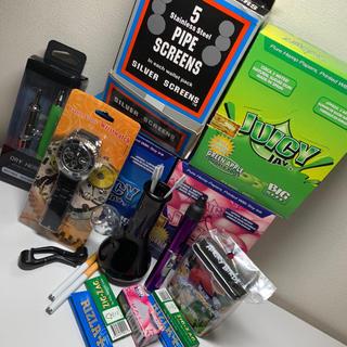 ココロブランド(COCOLOBLAND)のお買い得喫煙具セット ミニボング+ベポライザー早い者勝ち!(タバコグッズ)