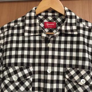 Supreme - supreme ネルシャツ