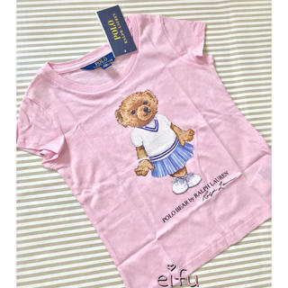 Ralph Lauren - ラルフローレン  ポロベア Tシャツ 100センチピンク