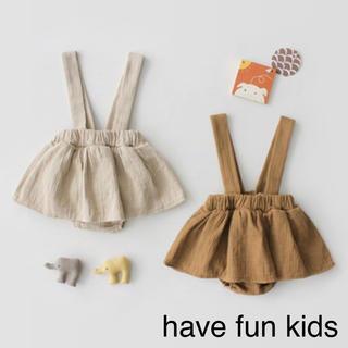 プティマイン(petit main)のサロペットスカート 韓国子供服(パンツ/スパッツ)