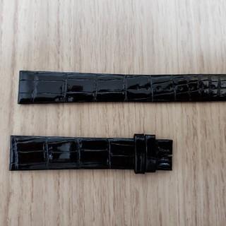 グランドセイコー(Grand Seiko)のグランドセイコー 革ベルト ブラック 艶あり 寸長 未使用品(腕時計(アナログ))