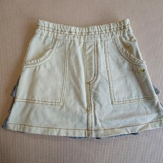 ニットプランナー(KP)の【美品】KP 100cm デニムスカート(スカート)