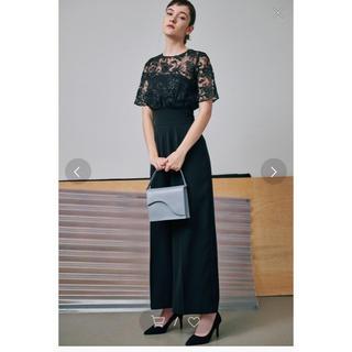 ラグナムーン(LagunaMoon)のラグナムーン  オーバーレースワイドパンツドレス(その他ドレス)