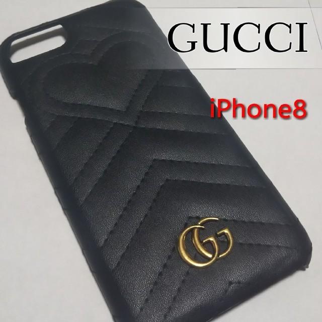 iphone8 ケース ヘンリベンデル | Gucci - GUCCI iPhoneケース GG マーモント の通販 by たけなか's shop|グッチならラクマ