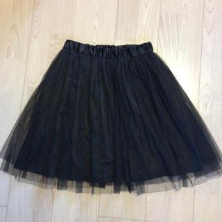 ジャニスマーケット(janis market)のチュールスカート  Mサイズ(ひざ丈スカート)