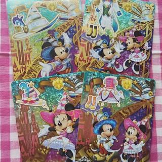 ディズニー(Disney)のマジックキャッスル ミッキー、ミニーSR(シングルカード)