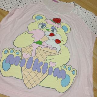 スピンズ(SPINNS)のmilklim*1000→700→555(Tシャツ(長袖/七分))