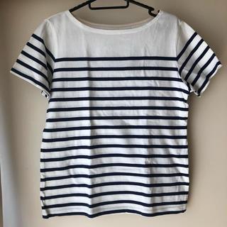 MUJI (無印良品) - ボーダー Tシャツ