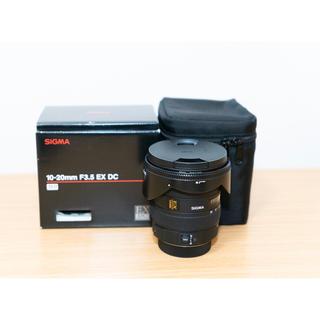 シグマ(SIGMA)のシグマ SIGMA 10-20 F3.5 EX DC PENTAX用(レンズ(ズーム))