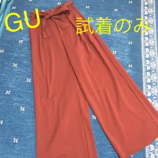 GU - GU❤️ワイドパンツ