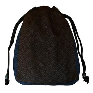 新品送料込み 男性用 信玄袋 巾着 きんちゃく ゆかたバッグ K771(その他)