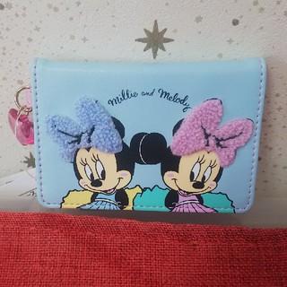 ディズニー(Disney)のディズニーストア ミリー&メロディ パスケース(パスケース/IDカードホルダー)