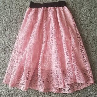 カラー(Color)のレーススカート(ロングスカート)