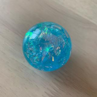 スーパーボール ♡ オーロラ 水色(ボール)