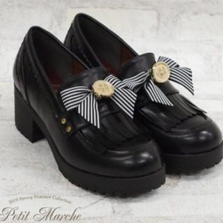 アマベル(Amavel)の値下げ!アマベル2Wayローファーパンプス新作 bobon21系アンクルージュ系(ローファー/革靴)