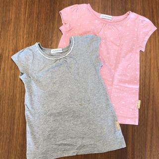 シマムラ(しまむら)の120/女の子半袖Tシャツ【2枚セット】(Tシャツ/カットソー)