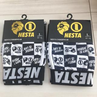 ネスタブランド(NESTA BRAND)のネスタ ボクサーパンツ  Lサイズ(ボクサーパンツ)