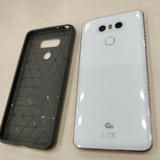 エルジーエレクトロニクス(LG Electronics)のLG G6 DualSim Simフリー ホワイト 白 美品(スマートフォン本体)