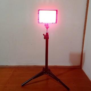 スタンド付き!LEDカラーライト!カラフル撮影!雰囲気を作り出す!演出照明!(ストロボ/照明)