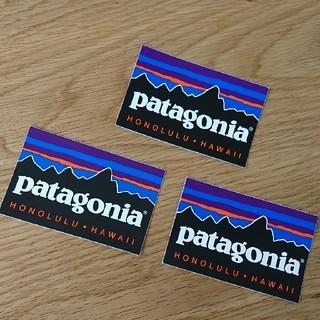 パタゴニア(patagonia)のpatagonia Hawaiiホノルル ステッカー 3枚(シール)