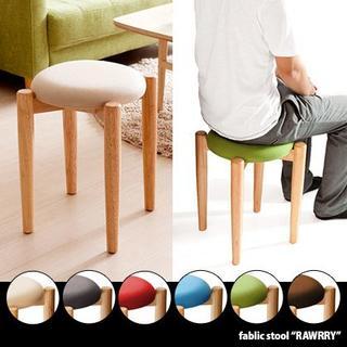 スツール 北欧 椅子 木製 チェア スタッキング 丸椅子(ダイニングチェア)