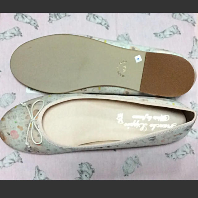 franche lippee(フランシュリッペ)の期間限定お値下げ フランシュリッペ  バレエシューズ 靴 25.5cm FL5 レディースの靴/シューズ(バレエシューズ)の商品写真