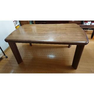カリモクカグ(カリモク家具)の「値下げします」カリモク家具 ダイニングテーブル(ダイニングテーブル)