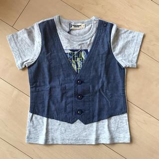 ニットプランナー(KP)の重ね着風Tシャツ KPBOY(Tシャツ/カットソー)