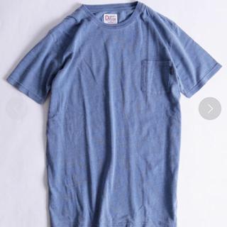 ドゥニーム(DENIME)のドゥニーム インディゴ クルーネック ポケットT denime pocket T(Tシャツ/カットソー(半袖/袖なし))