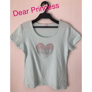 ディアプリンセス(Dear Princess)のディアプリンセス  半袖 Tシャツ  春色  春服  ワンサイズ(Tシャツ(半袖/袖なし))