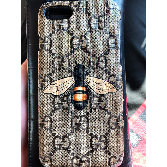 iphone8 ケース burberry - Gucci - GUCCI iPhoneケース 正規品の通販 by bc881's shop|グッチならラクマ