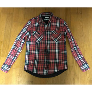 ザラ(ZARA)のZARA ロックシャツ ガンズ チェックシャツ(シャツ)