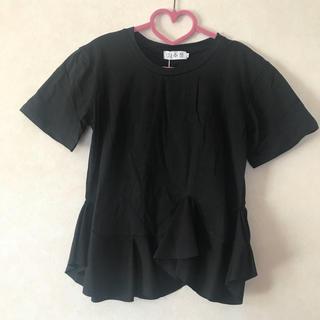 ザラ(ZARA)のフレアtシャツ birthdaybashお好きな方♡(Tシャツ(半袖/袖なし))