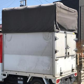 スバル(スバル)の軽トラ 荷台 幌 高さ調整可能(トラック・バス用品)