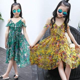 ザラキッズ(ZARA KIDS)の韓国子供服リゾートマキシワンピ(ワンピース)