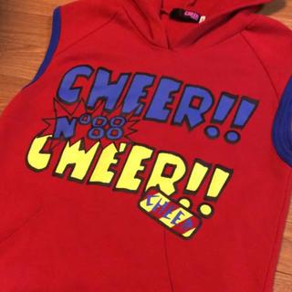 チアー(CHEER)のCHEER フード パーカー チュニック チアー (Tシャツ/カットソー)