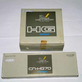 シマノ(SHIMANO)のSHIMANO HG70 スプロケット、チェーン(パーツ)