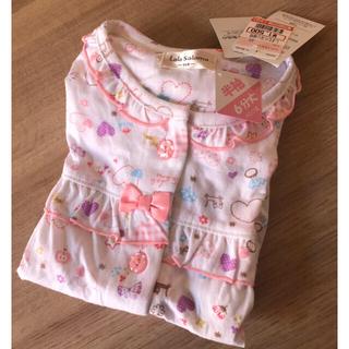 しまむら - キッズパジャマ サイズ110 猫 魔女の宅急便 リボン かわいい 女の子 ジブリ