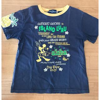ディズニー(Disney)の【ディズニーリゾート限定】ミッキーTシャツ 140サイズ(Tシャツ/カットソー)