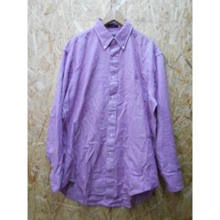 チャップス(CHAPS)のUSA製 CHAPS ラルフローレン ピンク 長袖シャツ XL(シャツ)