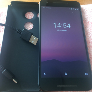 エルジーエレクトロニクス(LG Electronics)のLG NEXUS 5x 16gb ワイモバイル simロック解除済(スマートフォン本体)