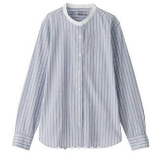 ムジルシリョウヒン(MUJI (無印良品))の無印のスタンドカラーシャツ(シャツ/ブラウス(長袖/七分))
