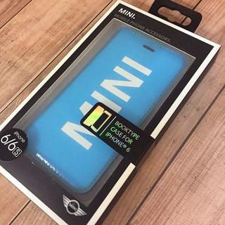 ビーエムダブリュー(BMW)のMINI iPhone6/6s フリップカバー(その他)