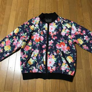スプレイ(SpRay)のSpRay スプレイ アウター 羽織り ブルゾン スプリングコート 花柄 コート(スプリングコート)