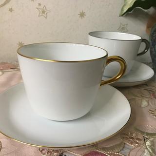 オオクラトウエン(大倉陶園)の大倉陶園 モーニングカップ ゴールド プラチナ(食器)